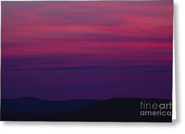 Franconia Notch State Park - White Mountain New Hampshire  Greeting Card by Erin Paul Donovan