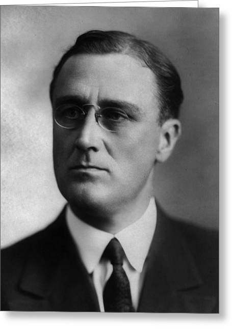 Greeting Card featuring the photograph Franklin Delano Roosevelt by International  Images