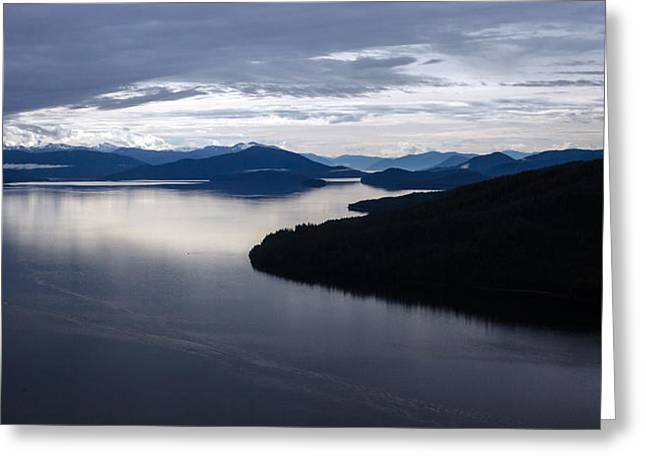 Frederick Sound Morning Greeting Card by Mike Reid