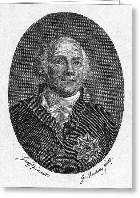 Frederick William II Greeting Card by Granger