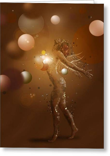 Free Blur Greeting Card by Trish Gaines