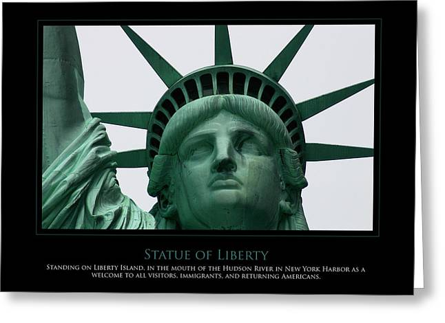 Freedom Greeting Card by Jim McDonald Photography
