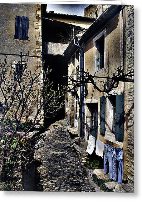 French Laundry Greeting Card by Rob Outwater