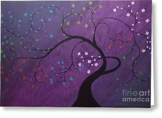 Fresh Blooms Greeting Card by Dawn Plyler