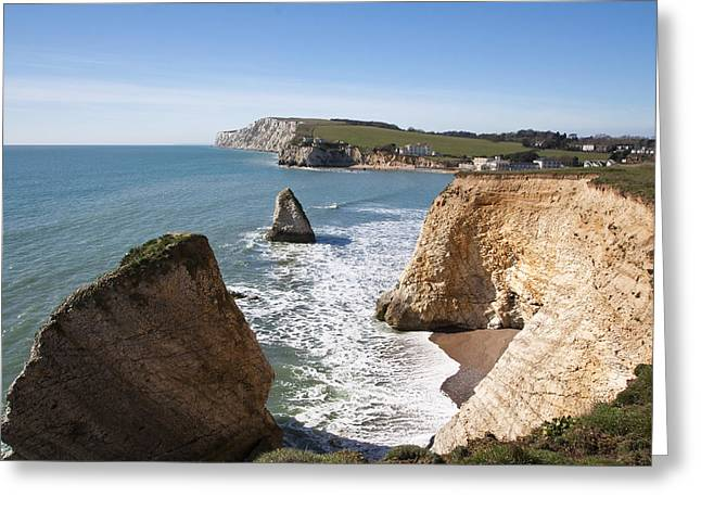 Greeting Card featuring the photograph Freshwater Bay by Shirley Mitchell