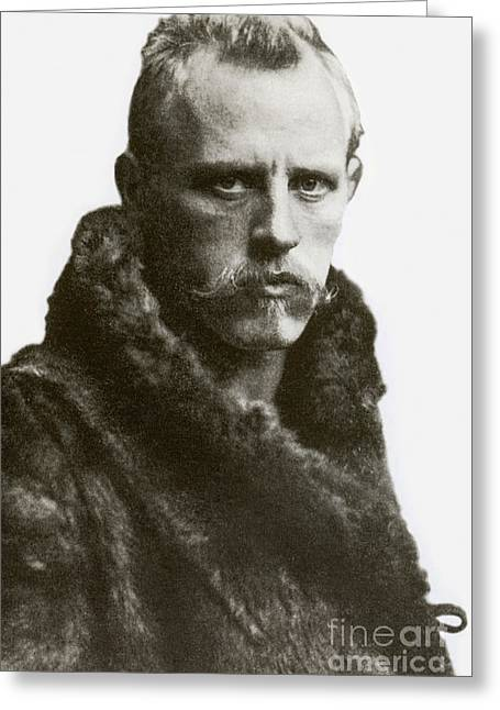 Fridtjof Nansen, Norwegian Explorer Greeting Card