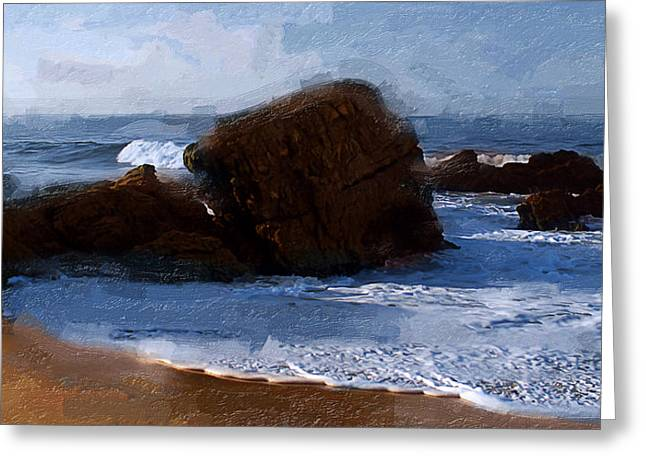 From Here To Eternity Greeting Card by Ron Regalado