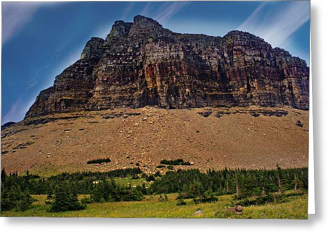 From Logan Pass Greeting Card by Marty Koch