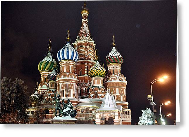 From Russia With Love Greeting Card by Kevin Askew