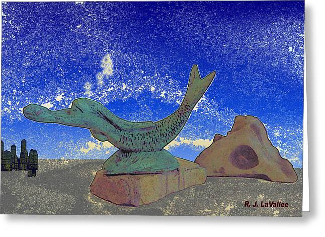 From The Dreams Of Mankind. Greeting Card