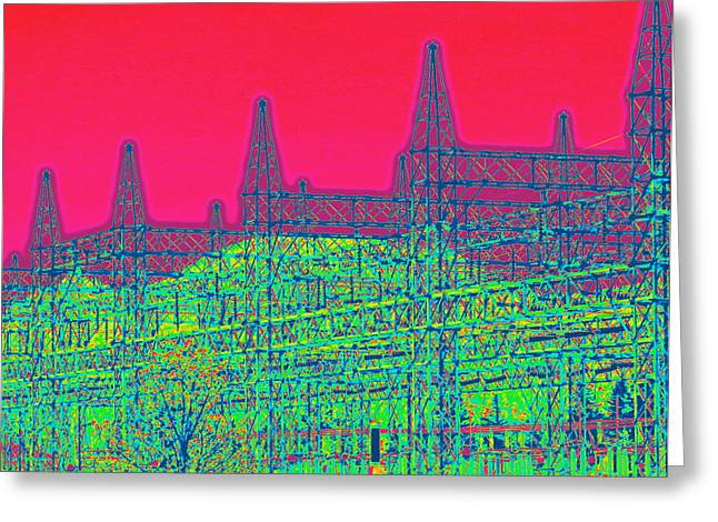 Front Range Greeting Card by Rosemarie Hakim