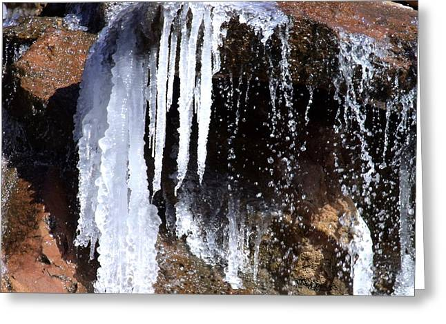 Frozen Water Greeting Card