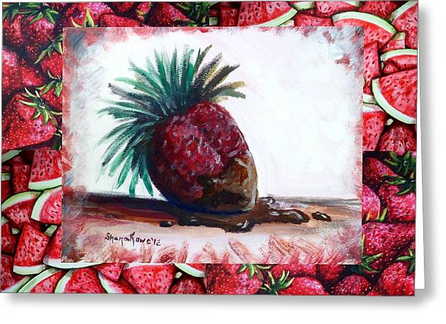 Fruit Fusion Greeting Card by Shana Rowe Jackson