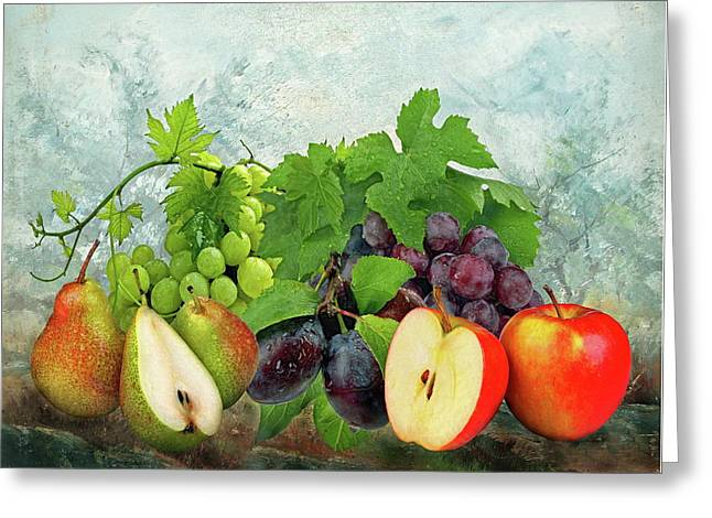 Fruit Garden Greeting Card