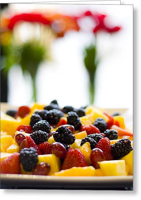 Fruit Greeting Card by Royce Gorsuch