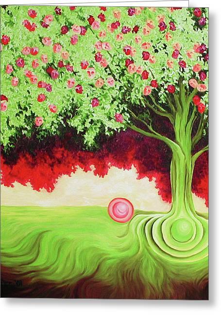 Fruit Tree Greeting Card