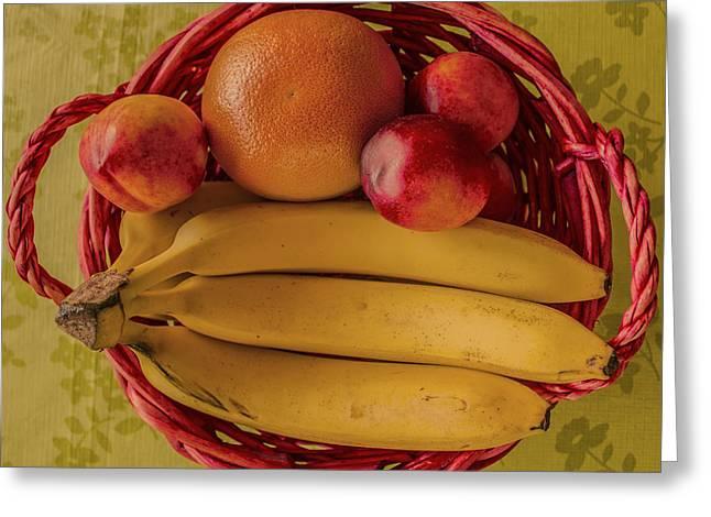 Fruits Greeting Card by John Nasir