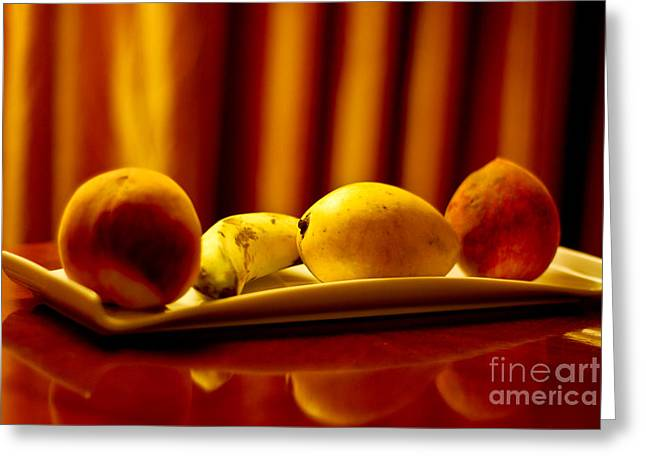 Fruits Of Patience Greeting Card by Syed Aqueel