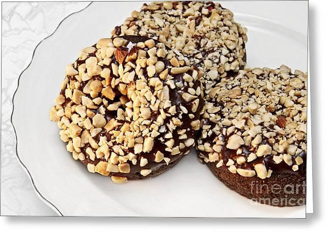 Fudge Nut Delights Greeting Card