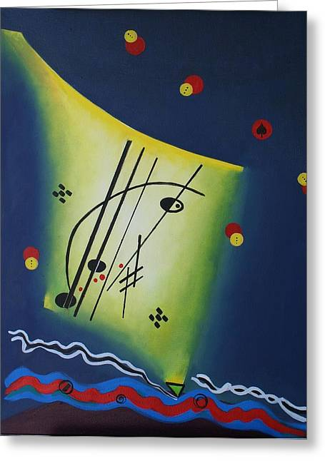 Fuer Elise II Greeting Card by Karin Eisermann