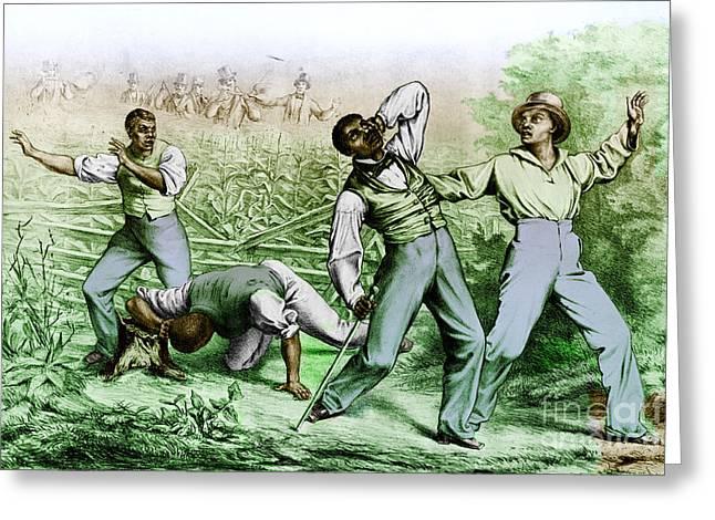 Fugitive Slave Law Greeting Card