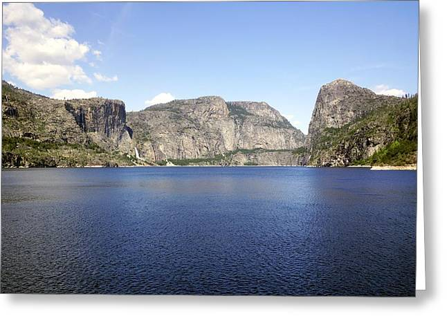 Full Hetch Hetchy Greeting Card by Michael Courtney