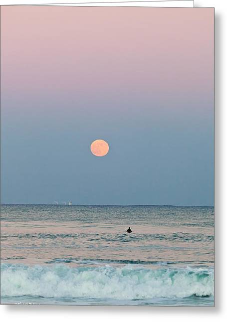 Full Moon In Taurus October 29 2012 Greeting Card by Michelle Wiarda
