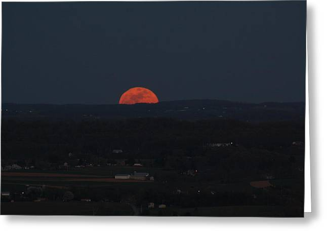 Full Moonrise Greeting Card