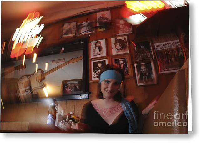 Greeting Card featuring the photograph Future Fame by Sherry Davis