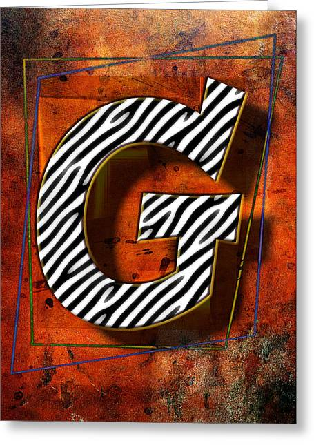 G Greeting Card