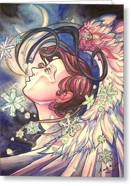 Gabriel Closeup Greeting Card