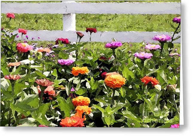 Gail's Garden Greeting Card