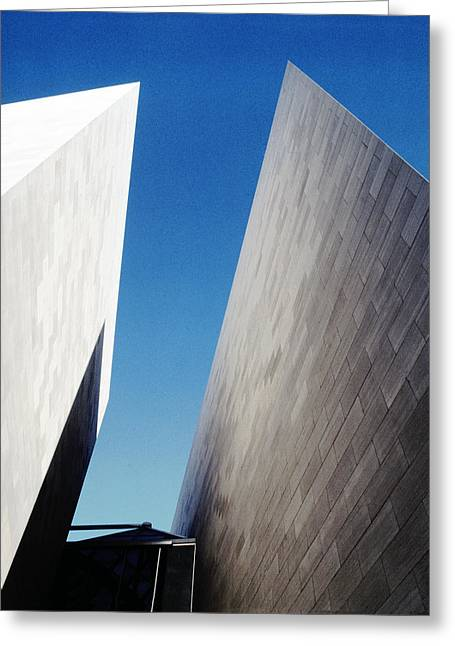 Gallery Abstract Greeting Card by Jan W Faul