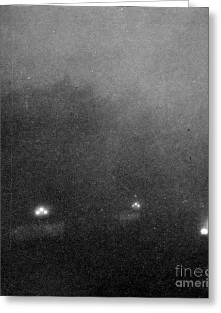 Garden City, Dust Storm Sequence, 2 Greeting Card