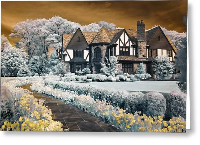Garden City Tudor Greeting Card