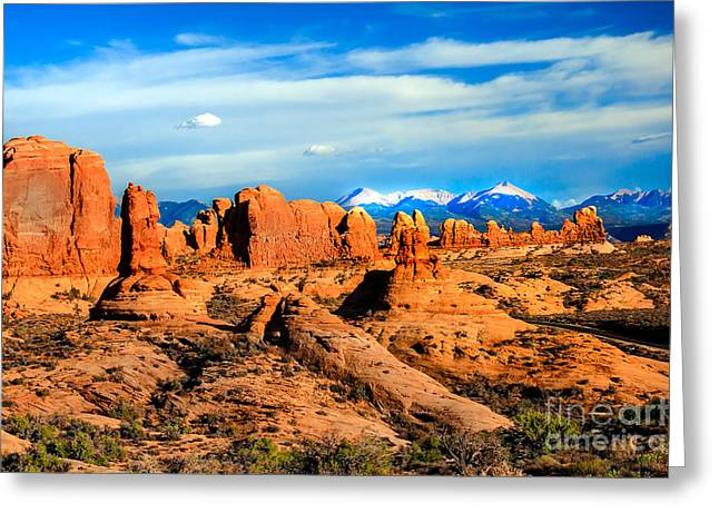 Garden Eden Greeting Card by Robert Bales