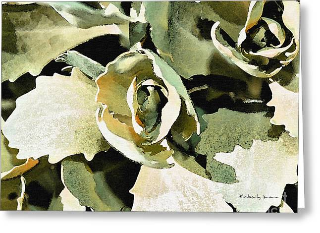 Garden Greens Greeting Card