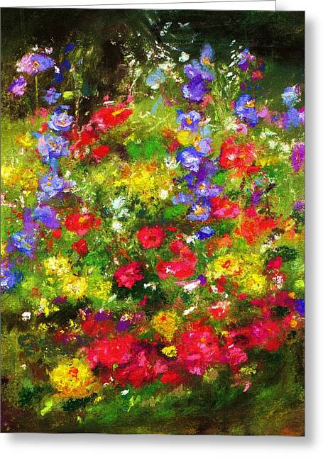 Garden In New Jersey Greeting Card