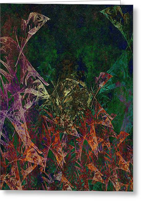 Garden Of Color Greeting Card by Christopher Gaston