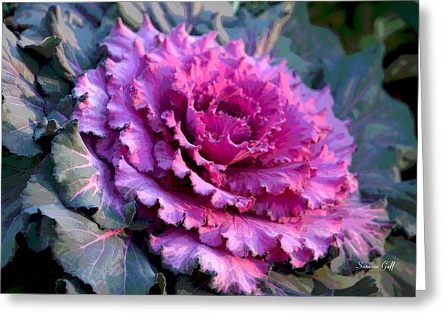 Garden Texture IIi Greeting Card