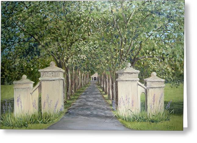 Gateway To Fonthill Greeting Card