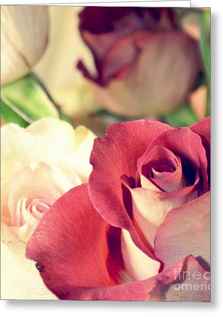 Greeting Card featuring the photograph Gather Beauty by Robin Dickinson