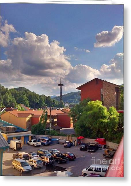 Greeting Card featuring the photograph Gatlinburg Tn by Janice Spivey