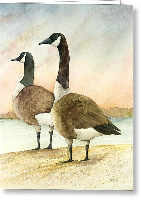 Geese 52012 Greeting Card