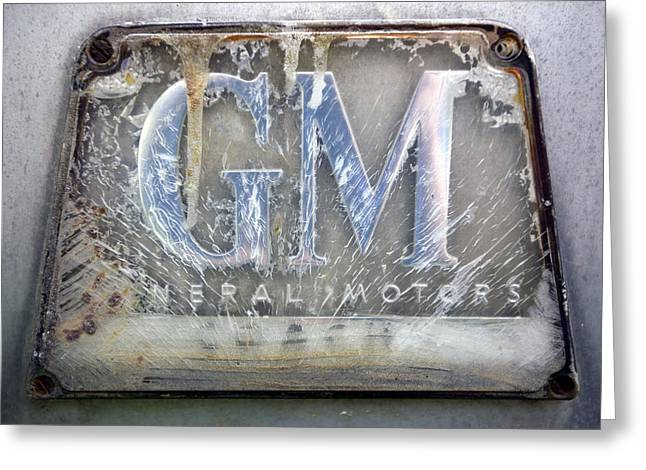 General Motors Greeting Card by Luc Novovitch