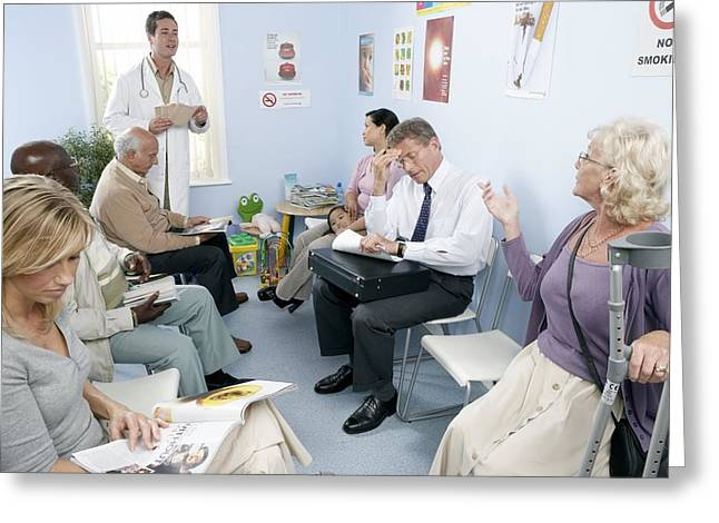 General Practice Waiting Room Greeting Card