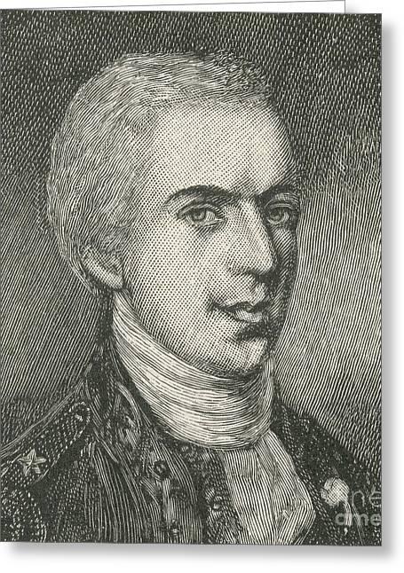 General Samuel B. Webb Greeting Card by Photo Researchers