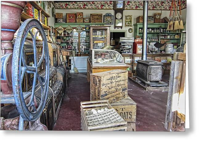 General Store 2 - Virginia City Ghost Town - Montana Greeting Card by Daniel Hagerman