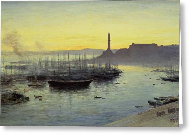 Genoa Greeting Card by John MacWhirter