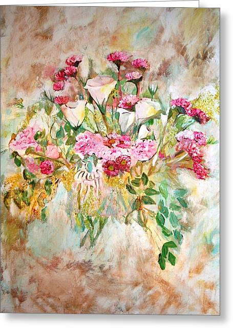 Gentle Greeting Card by Ofra Moran